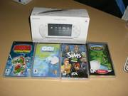 Sony Psp Slim & Lite Console (White) with 4 Games