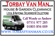 www. Torbay Van Man .co.uk